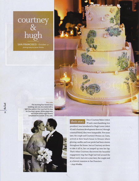Magazine, The Knot, Hair Styling for Wedding