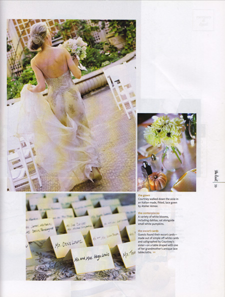 The Knot Magazine, Hair Styling for Bride